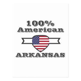 100% American, Arkansas Postcard