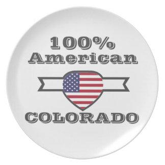 100% American, Colorado Dinner Plates