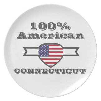 100% American, Connecticut Dinner Plates