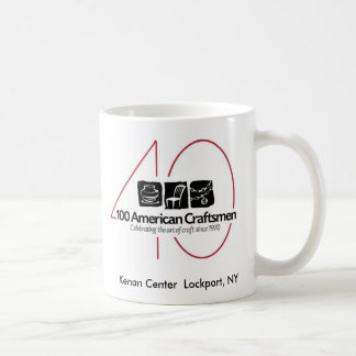 100 American Craftsmen 40th Mug