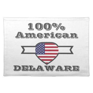 100% American, Delaware Placemat