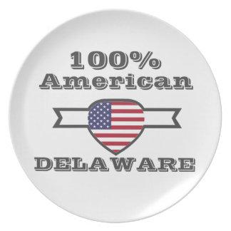 100% American, Delaware Plate