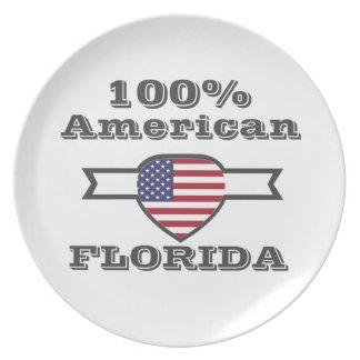 100% American, Florida Dinner Plate