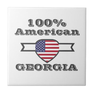 100% American, Georgia Ceramic Tile