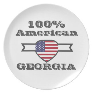 100% American, Georgia Plate