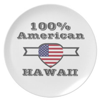 100% American, Hawaii Dinner Plates