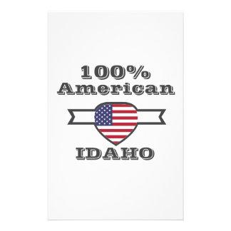 100% American, Idaho Stationery