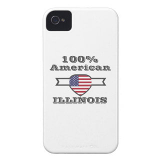 100% American, Illinois Case-Mate iPhone 4 Cases