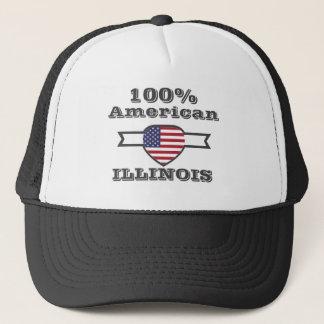 100% American, Illinois Trucker Hat