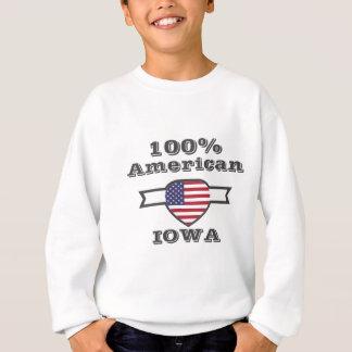 100% American, Iowa Sweatshirt