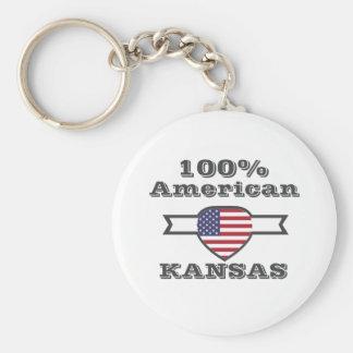 100% American, Kansas Key Ring