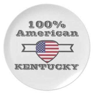 100% American, Kentucky Plate