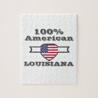 100% American, Louisiana Jigsaw Puzzle