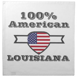 100% American, Louisiana Napkin