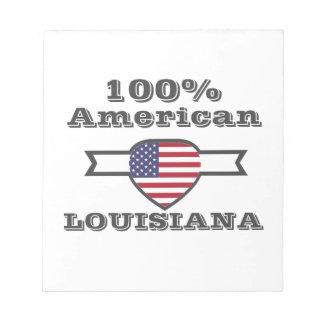 100% American, Louisiana Notepad