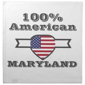 100% American, Maryland Napkin