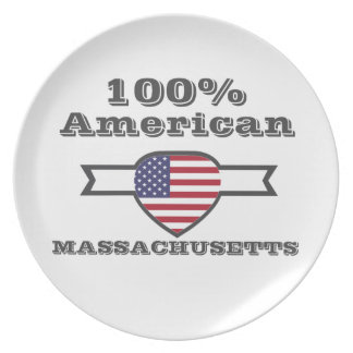 100% American, Massachusetts Plate