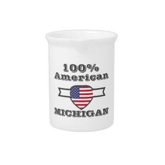 100% American, Michigan Drink Pitcher