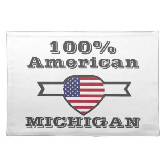100% American, Michigan Placemat