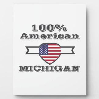 100% American, Michigan Plaque