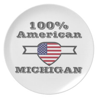 100% American, Michigan Plate