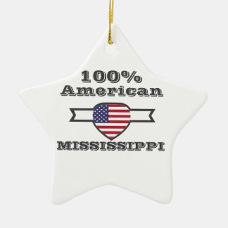 100% American, Mississippi Ceramic Star Decoration