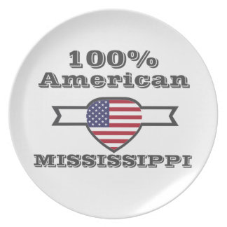 100% American, Mississippi Plate