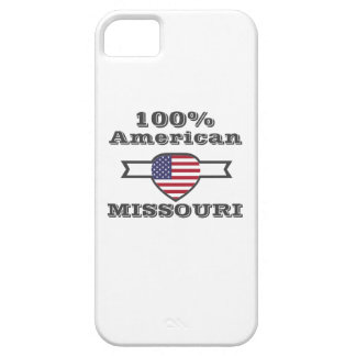 100% American, Missouri Barely There iPhone 5 Case
