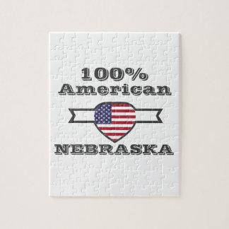 100% American, Nebraska Jigsaw Puzzle
