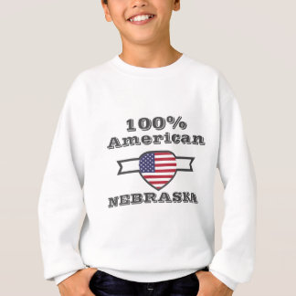 100% American, Nebraska Sweatshirt