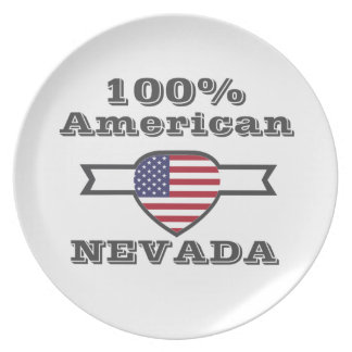 100% American, Nevada Party Plate