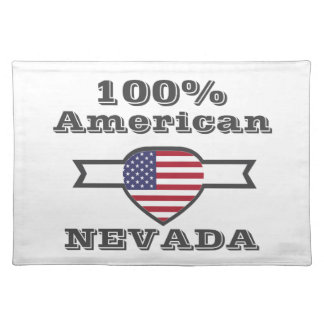 100% American, Nevada Placemat