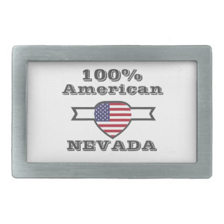 100% American, Nevada Rectangular Belt Buckle