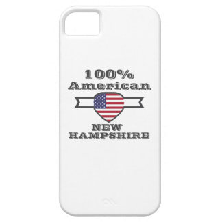 100% American, New Hampshire Barely There iPhone 5 Case