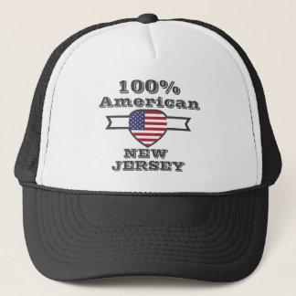 100% American, New Jersey Trucker Hat