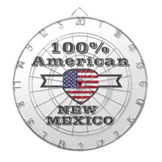 100% American, New Mexico Dartboard