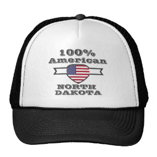 100% American, North Dakota Cap