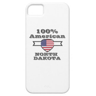 100% American, North Dakota iPhone 5 Cover