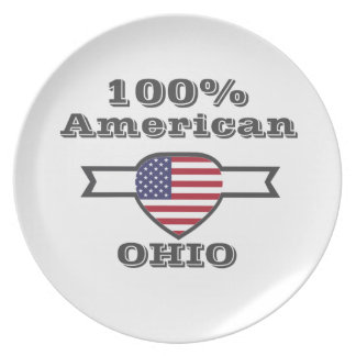 100% American, Ohio Plate