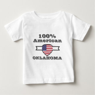 100% American, Oklahoma Baby T-Shirt