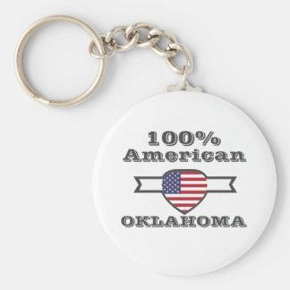 100% American, Oklahoma Key Ring