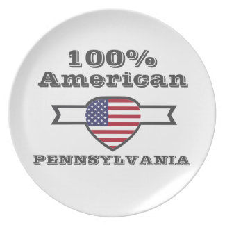 100% American, Pennsylvania Plates