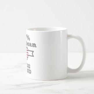 100% American, Rhode Island Coffee Mug
