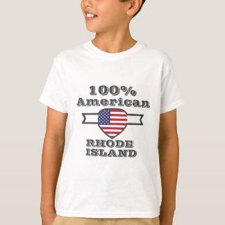 100% American, Rhode Island T-Shirt