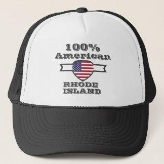 100% American, Rhode Island Trucker Hat