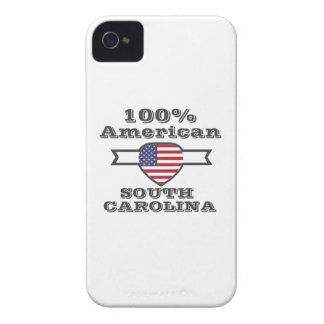 100% American, South Carolina iPhone 4 Case
