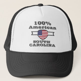 100% American, South Carolina Trucker Hat