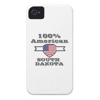 100% American, South Dakota iPhone 4 Case