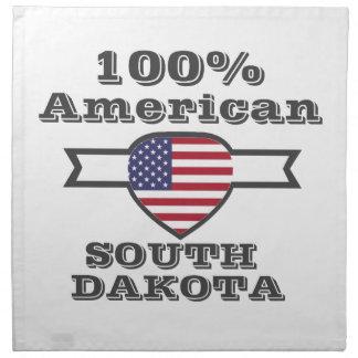 100% American, South Dakota Napkin