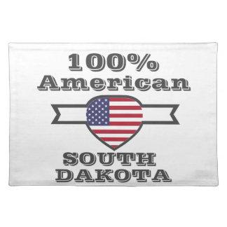 100% American, South Dakota Placemat